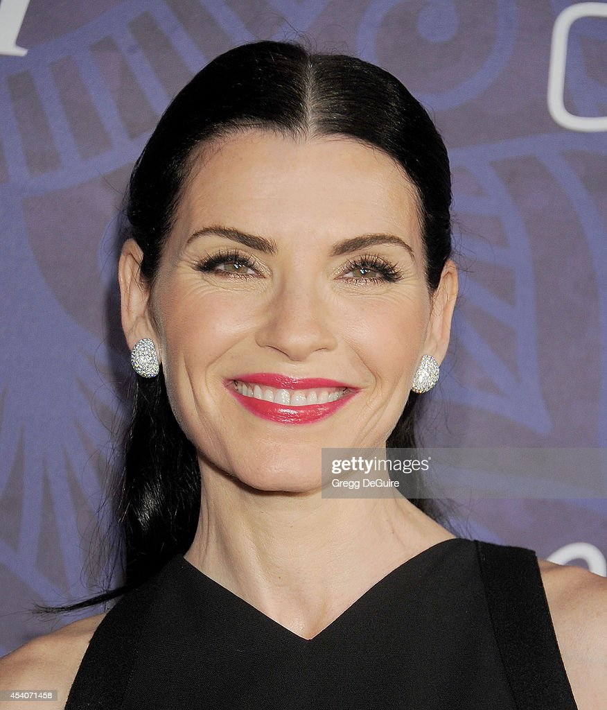 Actress Julianna Margulies arrives at the Variety And Women In Film Annual PreEmmy Celebration at Gracias Madre on August 23 2014 in West Hollywood...