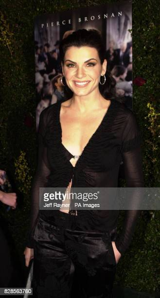 Actress Julianna Margulies attending the premiere of her new film 'Evelyn' that was held in Beverly Hills CA