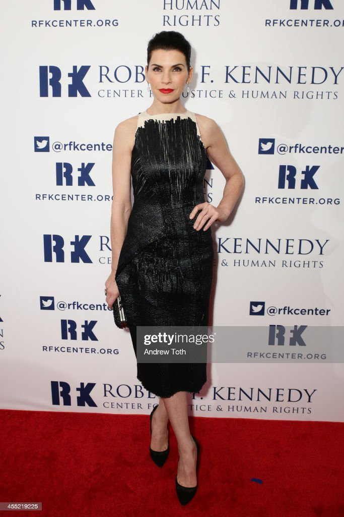 Actress <a gi-track='captionPersonalityLinkClicked' href=/galleries/search?phrase=Julianna+Margulies&family=editorial&specificpeople=208994 ng-click='$event.stopPropagation()'>Julianna Margulies</a> attends 2013 Ripple of Hope Awards Dinner at New York Hilton on December 11, 2013 in New York City.