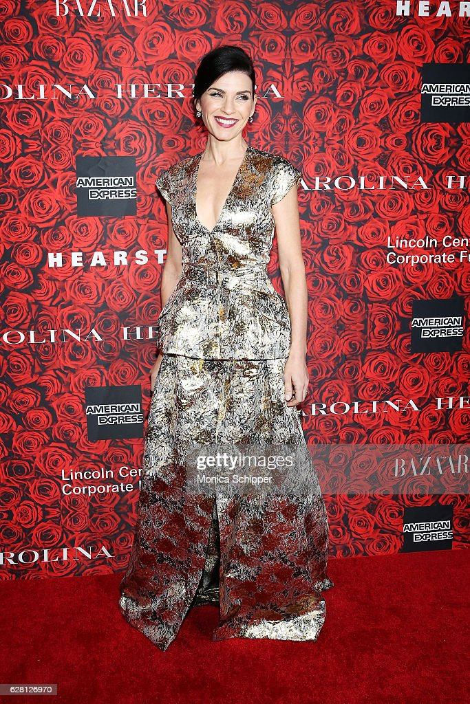 Actress Julianna Margulies attends An Evening Honoring Carolina Herrera at Alice Tully Hall at Lincoln Center on December 6, 2016 in New York City.