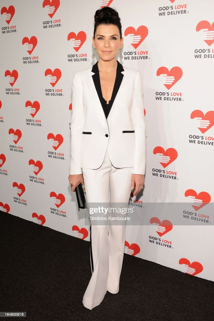 Actress Julianna Margulies attends God's Love We Deliver 2013 Golden Heart Awards Celebration at Spring Studios on October 16 2013 in New York City