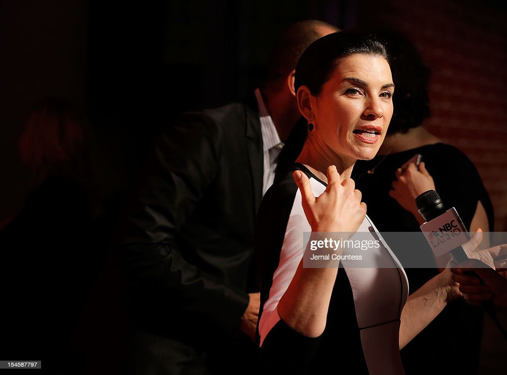 Actress Julianna Margulies attends Narciso Rodriguez Kohl's Collection Launch Party at IAC Building on October 22, 2012 in New York City.
