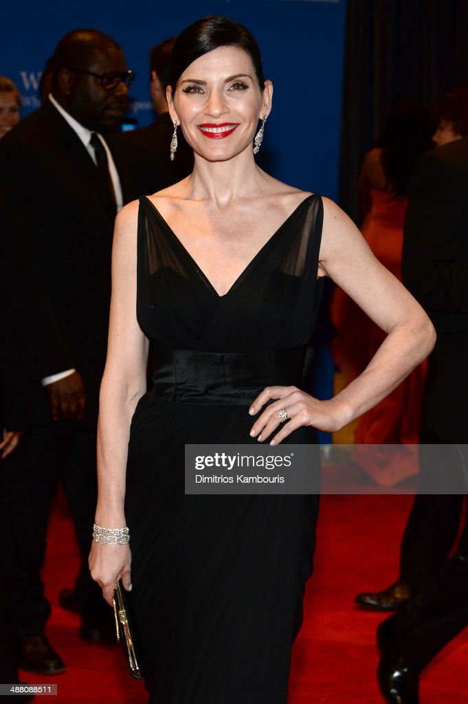 Actress Julianna Margulies attends the 100th Annual White House Correspondents' Association Dinner at the Washington Hilton on May 3, 2014 in Washington, DC.
