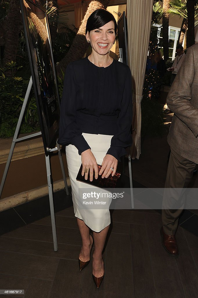 Actress Julianna Margulies attends the 14th annual AFI Awards Luncheon at the Four Seasons Hotel Beverly Hills on January 10, 2014 in Beverly Hills, California.