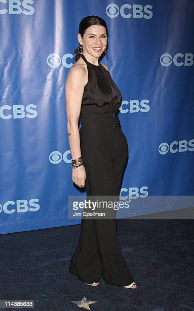 Actress Julianna Margulies attends the 2011 CBS Upfront at The Tent at Lincoln Center on May 18 2011 in New York City