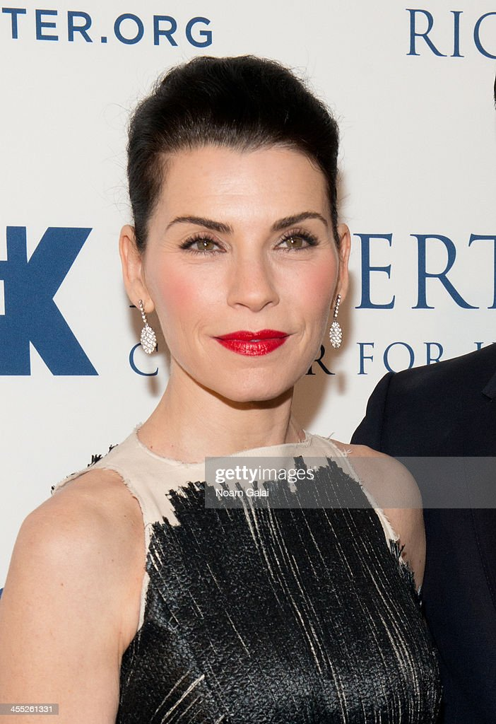 Actress <a gi-track='captionPersonalityLinkClicked' href=/galleries/search?phrase=Julianna+Margulies&family=editorial&specificpeople=208994 ng-click='$event.stopPropagation()'>Julianna Margulies</a> attends the 2013 Ripple of Hope Awards Dinner at New York Hilton on December 11, 2013 in New York City.