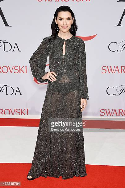 Actress Julianna Margulies attends the 2015 CFDA Fashion Awards at Alice Tully Hall at Lincoln Center on June 1 2015 in New York City