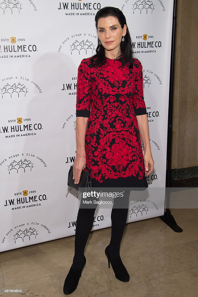 Actress <a gi-track='captionPersonalityLinkClicked' href=/galleries/search?phrase=Julianna+Margulies&family=editorial&specificpeople=208994 ng-click='$event.stopPropagation()'>Julianna Margulies</a> attends the 2015 New York Stage and Film Gala at The Plaza Hotel on November 15, 2015 in New York City.