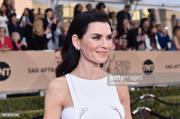 Actress Julianna Margulies attends the 22nd Annual Screen Actors Guild Awards at The Shrine Auditorium on January 30 2016 in Los Angeles California