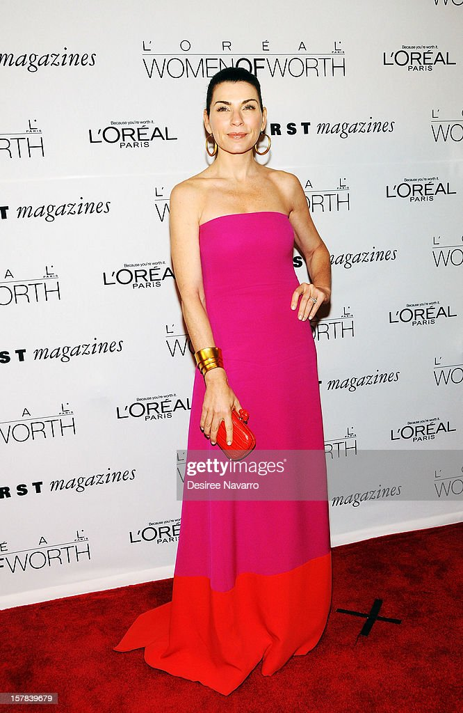 Actress Julianna Margulies attends the 7th annual Women of Worth Awards at Hearst Tower on December 6, 2012 in New York City.