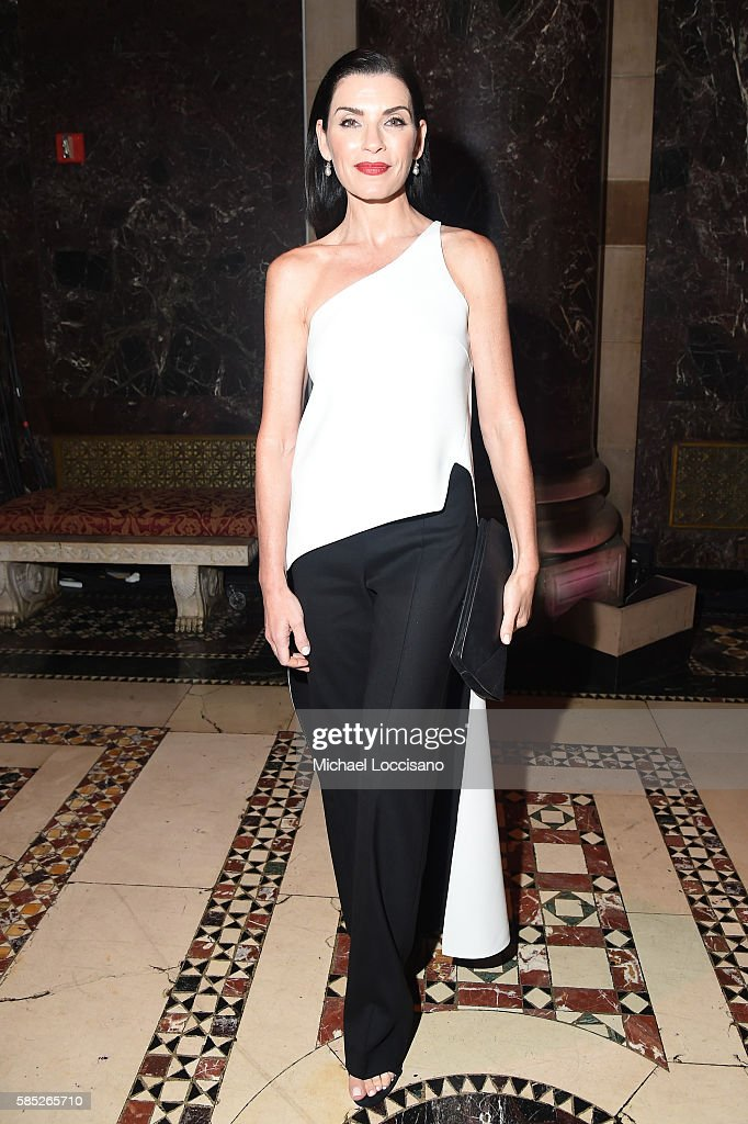 Actress Julianna Margulies attends the Accessories Council 20th Anniversary celebration of the ACE awards at Cipriani 42nd Street on August 2, 2016 in New York City.
