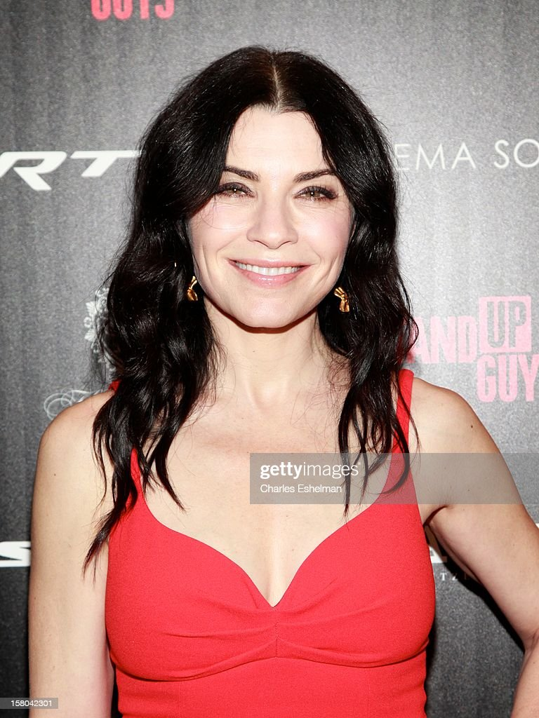 Actress Julianna Margulies attends The Cinema Society With Chrysler & Bally Host The Premiere Of 'Stand Up Guys' at The Museum of Modern Art on December 9, 2012 in New York City.