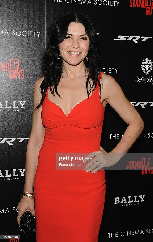 Actress Julianna Margulies attends The Cinema Society With Chrysler & Bally Host The Premiere Of 'Stand Up Guys' at MOMA on December 9, 2012 in New York City.