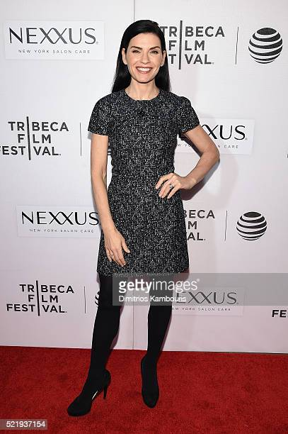Actress Julianna Margulies attends 'The Good Wife' screening during the 2016 Tribeca Film Festival at John Zuccotti Theater at BMCC Tribeca...