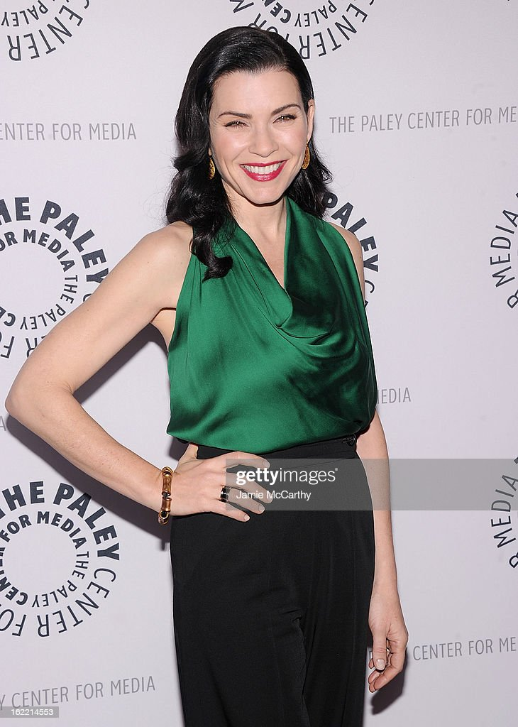 Actress Julianna Margulies attends The Paley Center For Media Presents: 'She's Making Media: Julianna Margulies' at Paley Center For Media on February 20, 2013 in New York City.