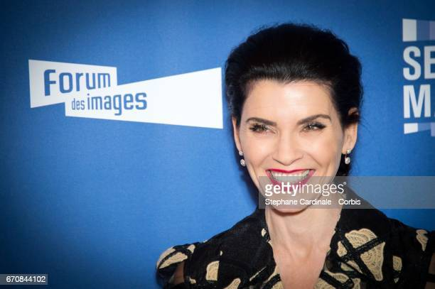 Actress Julianna Margulies attends the 'Series Mania' photocall at Forum des Halles on April 20 2017 in Paris France