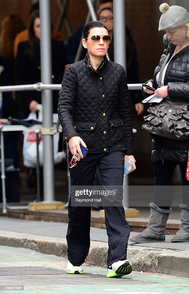 Actress Julianna Margulies is seen walking in Soho on December 1, 2014 in New York City.
