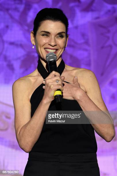 Actress Julianna Margulies speaks onstage during the SeriousFun Children's Network Gala at Pier 60 on May 23 2017 in New York City