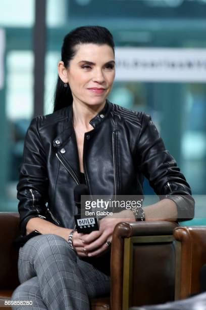 Actress Julianna Margulies visits the Build Series to discuss Erin's Law at Build Studio on November 3 2017 in New York City