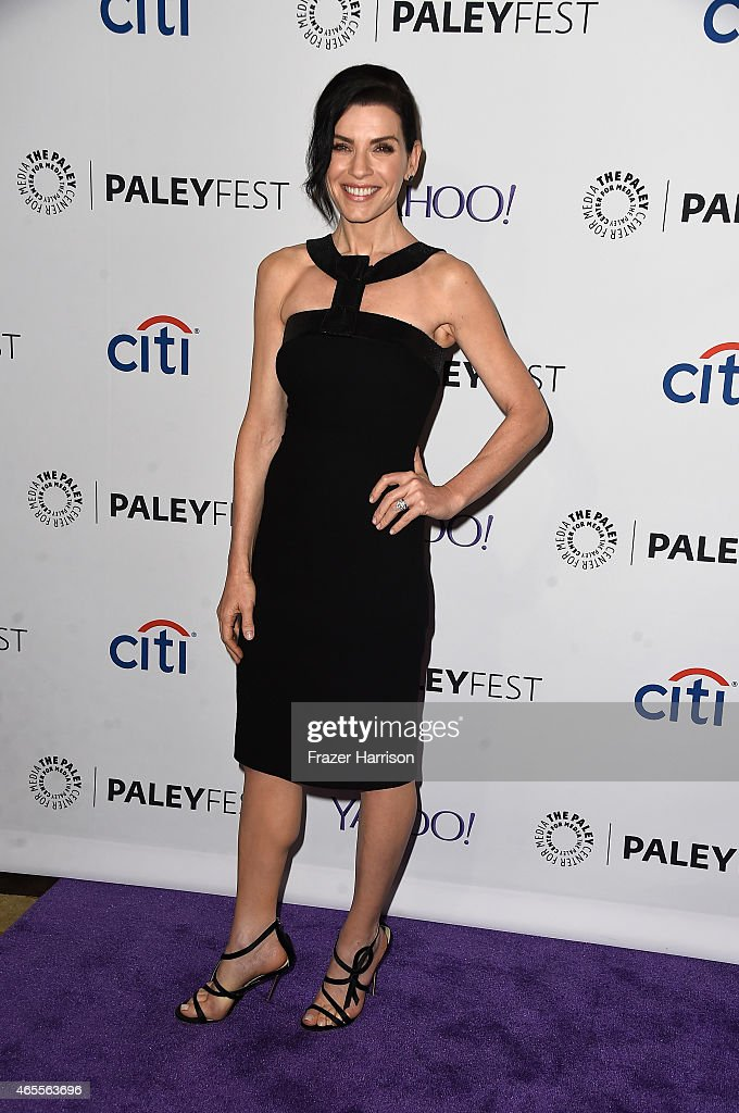 Actress Julianna Margullies arrives at The Paley Center For Media's 32nd Annual PALEYFEST LA - 'The Good Wife' at Dolby Theatre on March 7, 2015 in Hollywood, California.