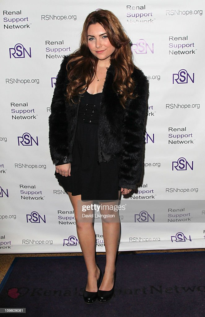 Actress Julianna Rose attends the 14th Annual RSN's Renal Teen Prom at Notre Dame High School on January 20, 2013 in Sherman Oaks, California.