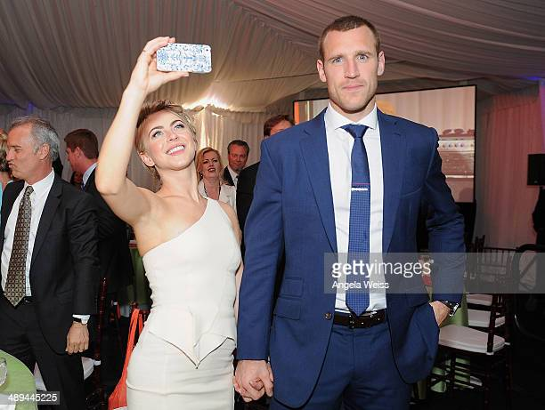 Actress Julianne Hough and Brooks Laich attend the 'Open Hearts Foundation Gala' on May 10 2014 in Malibu California