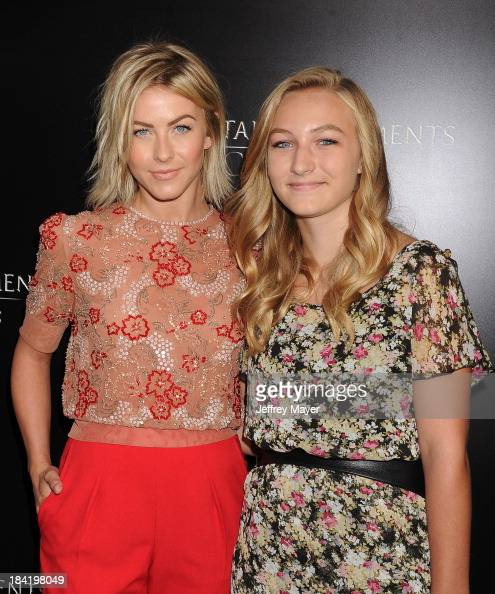 Actress Julianne Hough and niece Paris arrive at the Los Angeles premiere of 'The Mortal Instruments City Of Bones' at ArcLight Cinemas Cinerama Dome...