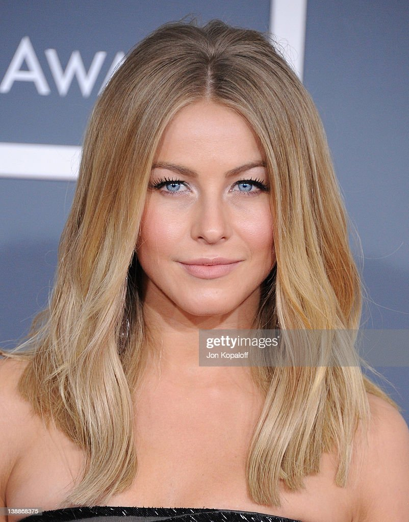 Actress Julianne Hough arrives at 54th Annual GRAMMY Awards held the at Staples Center on February 12, 2012 in Los Angeles, California.