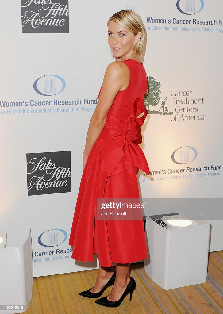 Actress <a gi-track='captionPersonalityLinkClicked' href=/galleries/search?phrase=Julianne+Hough&family=editorial&specificpeople=4237560 ng-click='$event.stopPropagation()'>Julianne Hough</a> arrives at An Unforgettable Evening benefiting EIF's Women's Cancer Research Fund at the Beverly Wilshire Four Seasons Hotel on May 2, 2013 in Beverly Hills, California.