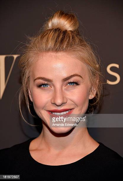 Actress Julianne Hough arrives at the Escada and W Magazine shopping event benefiting the Cool Earth Organization at Escada Boutique on September 26...
