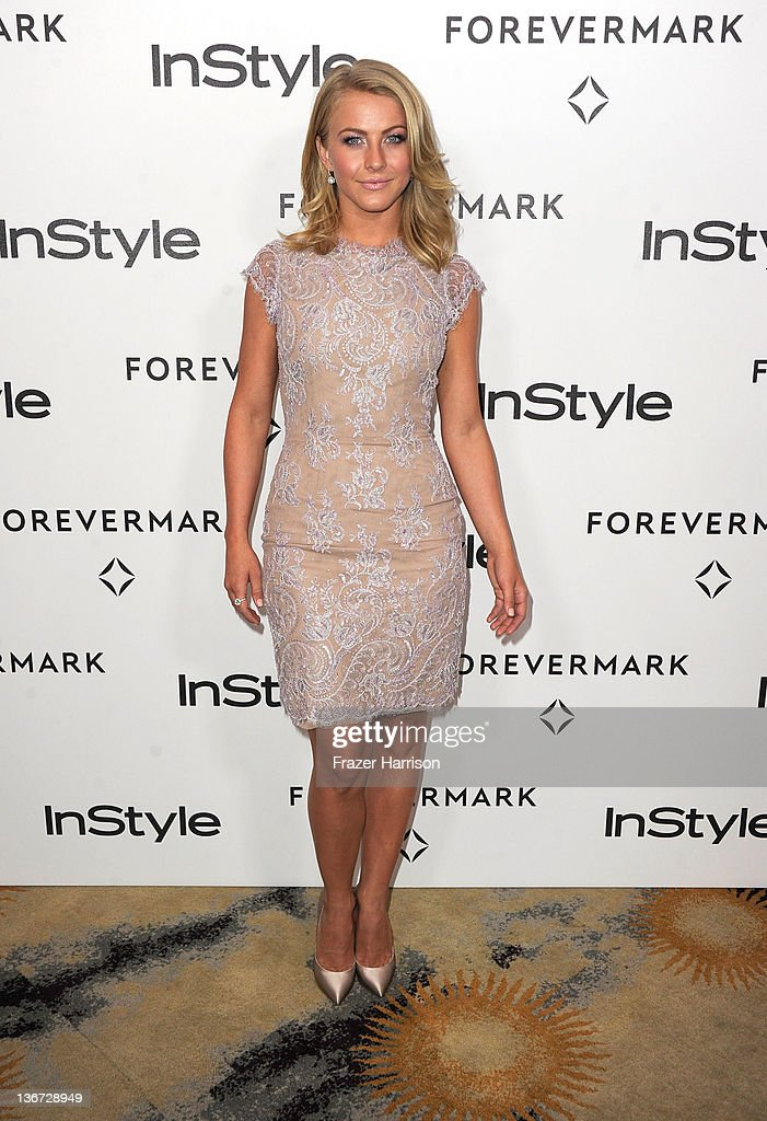 Actress Julianne Hough arrives at the Forevermark And InStyle's 'A Promise Of Beauty And Brilliance' Golden Globe Awards Event at Beverly Hills Hotel on January 10, 2012 in Beverly Hills, California.