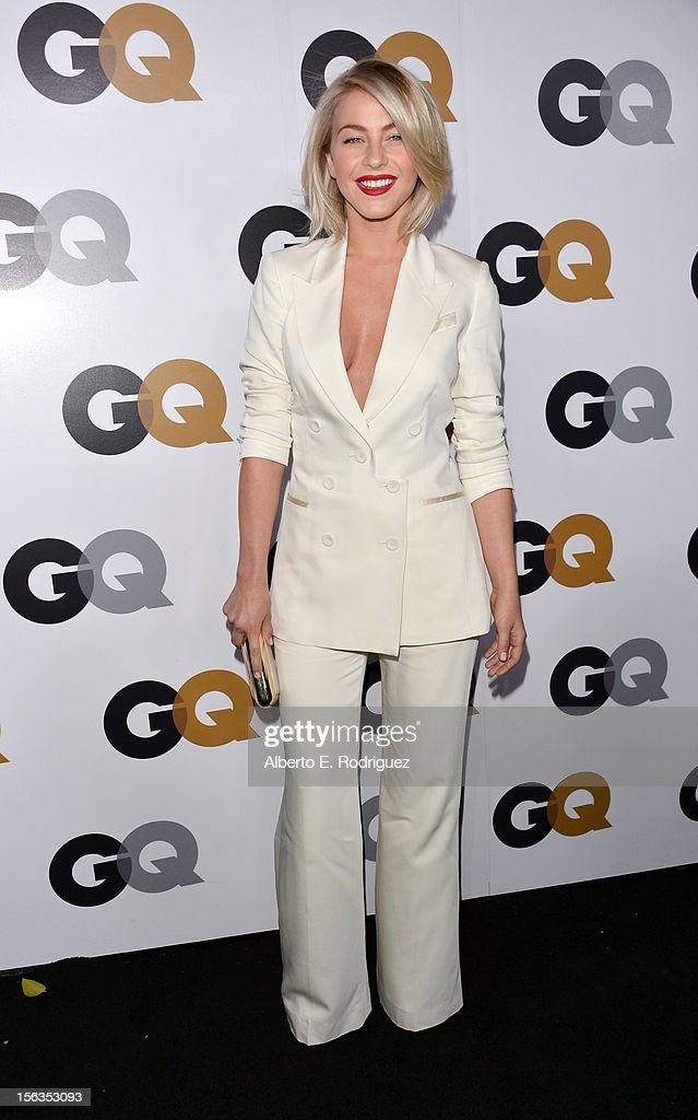 Actress Julianne Hough arrives at the GQ Men of the Year Party at Chateau Marmont on November 13, 2012 in Los Angeles, California.