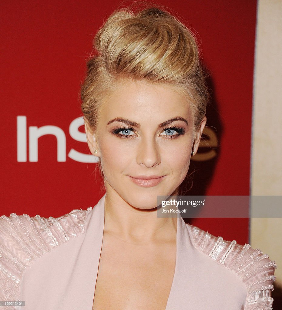 Actress Julianne Hough arrives at the InStyle And Warner Bros. Golden Globe Party at The Beverly Hilton Hotel on January 13, 2013 in Beverly Hills, California.