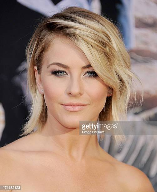 Actress Julianne Hough arrives at 'The Lone Ranger' World Premiere at Disney's California Adventure on June 22 2013 in Anaheim California