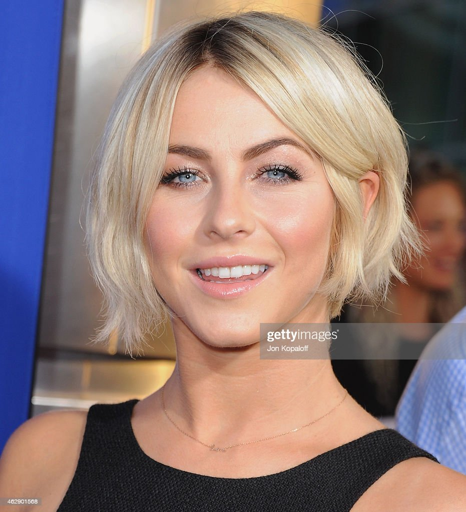 Actress <a gi-track='captionPersonalityLinkClicked' href=/galleries/search?phrase=Julianne+Hough&family=editorial&specificpeople=4237560 ng-click='$event.stopPropagation()'>Julianne Hough</a> arrives at the Los Angeles Premiere 'Let's Be Cops' at ArcLight Hollywood on August 7, 2014 in Hollywood, California.