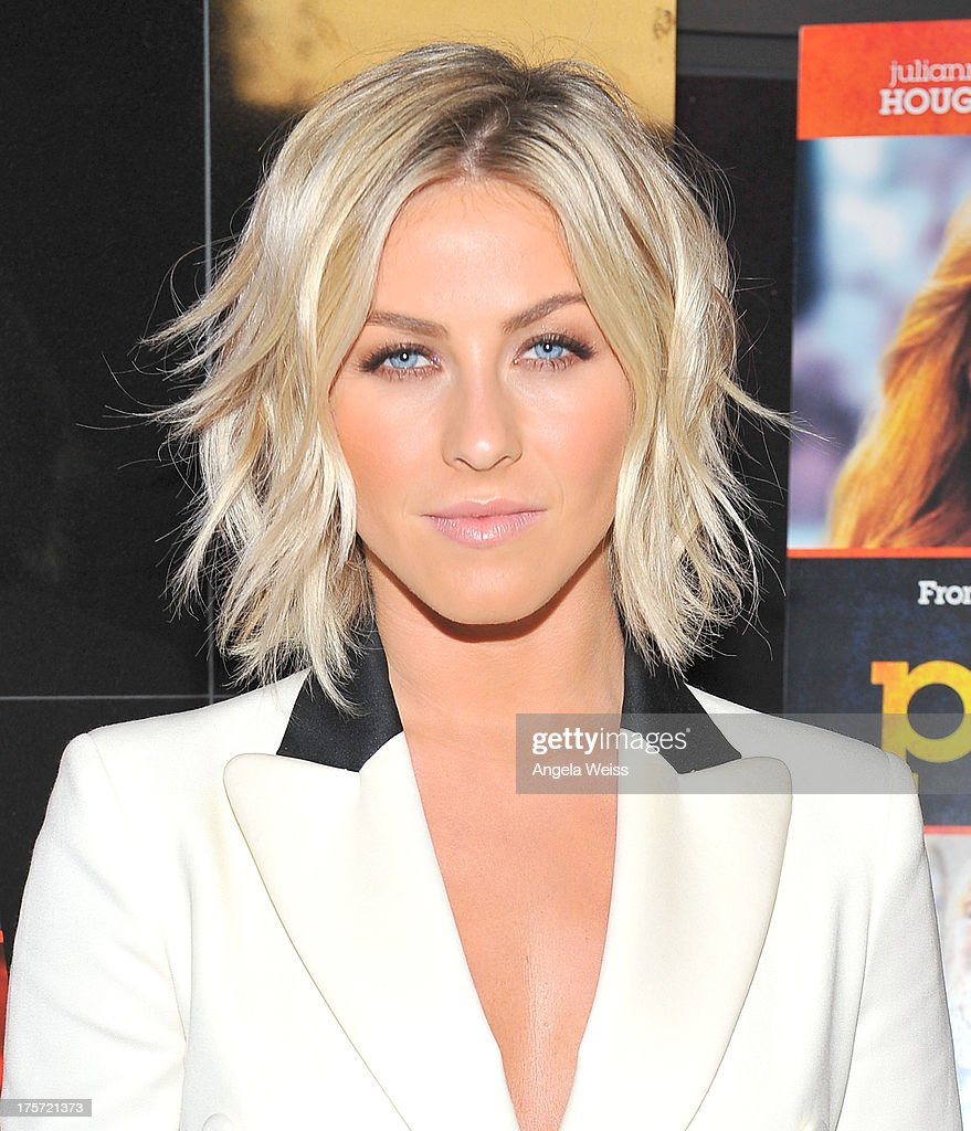 Actress Julianne Hough arrives at the premiere of DirecTV's 'Paradise' at Mann Chinese 6 on August 6, 2013 in Los Angeles, California.