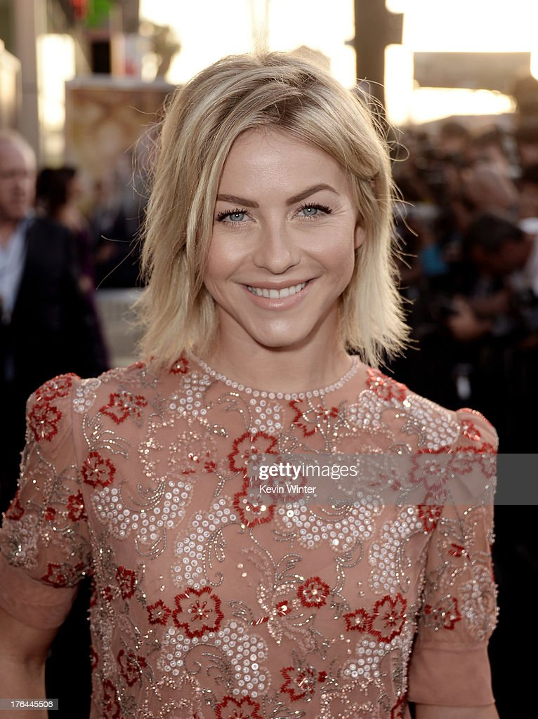 Actress Julianne Hough arrives at the premiere of Screen Gems & Constantin Films' 'The Mortal Instruments: City Of Bones' at the Cinerama Dome Theatre on August 12, 2013 in Los Angeles, California.