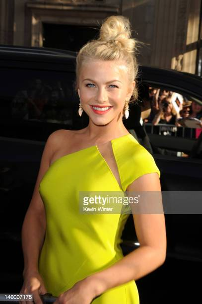 Actress Julianne Hough arrives at the premiere of Warner Bros Pictures' 'Rock of Ages' at Grauman's Chinese Theatre on June 8 2012 in Hollywood...