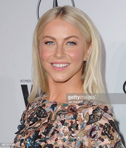 Actress Julianne Hough arrives at Variety And Women In Film's PreEmmy Celebration at Gracias Madre on September 16 2016 in West Hollywood California