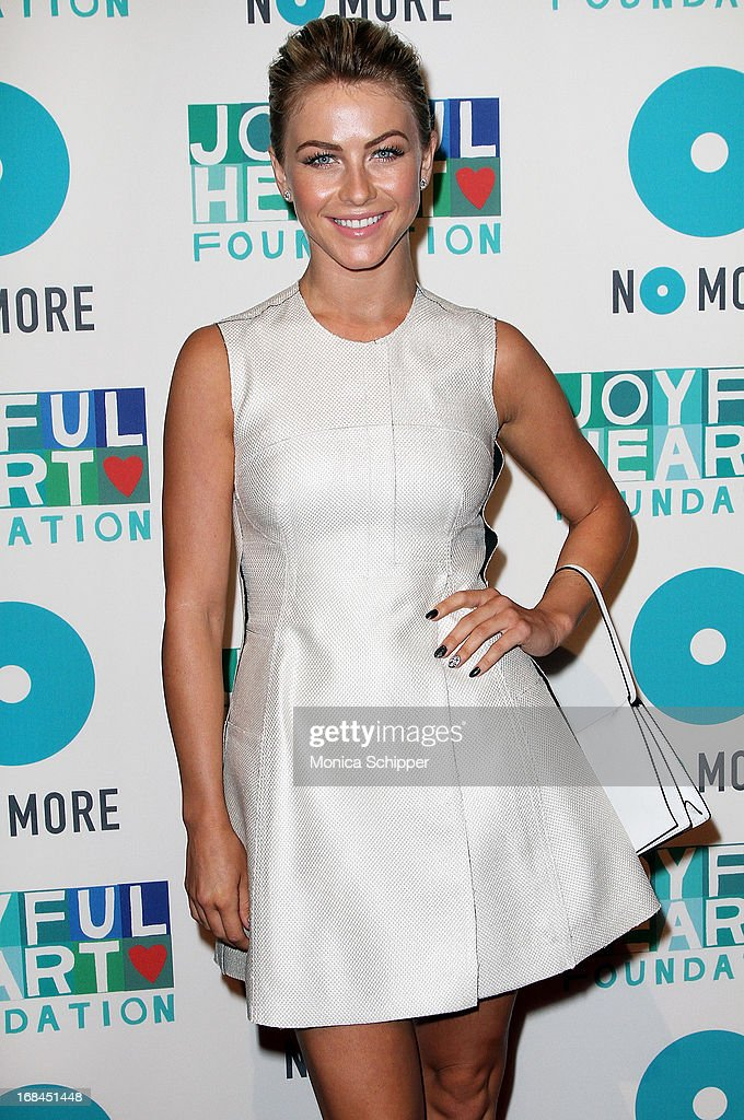 Actress <a gi-track='captionPersonalityLinkClicked' href=/galleries/search?phrase=Julianne+Hough&family=editorial&specificpeople=4237560 ng-click='$event.stopPropagation()'>Julianne Hough</a> attends the 2013 Joyful Heart Foundation gala at Cipriani 42nd Street on May 9, 2013 in New York City.