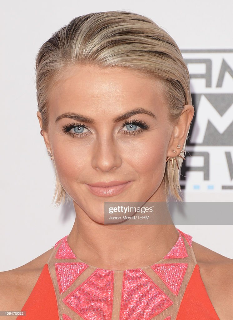 Actress Julianne Hough attends the 2014 American Music Awards at Nokia Theatre LA Live on November 23 2014 in Los Angeles California