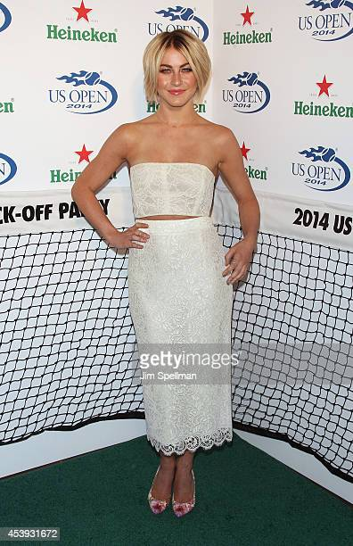 Actress Julianne Hough attends the 2014 Heineken US Open Kick Off Party at PHD Rooftop Lounge at Dream Downtown on August 21 2014 in New York City