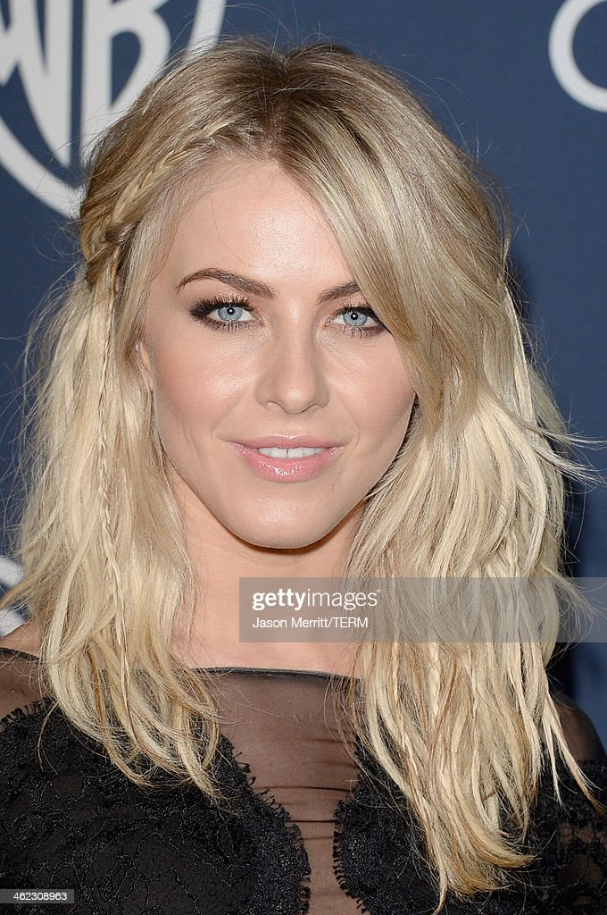Actress Julianne Hough attends the 2014 InStyle and Warner Bros 71st Annual Golden Globe Awards PostParty on January 12 2014 in Beverly Hills...