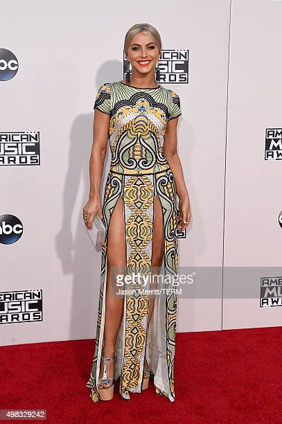 Actress Julianne Hough attends the 2015 American Music Awards at Microsoft Theater on November 22 2015 in Los Angeles California