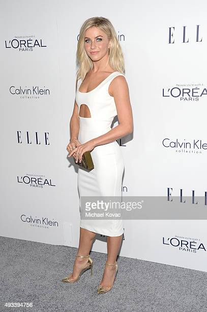 Actress Julianne Hough attends the 22nd Annual ELLE Women in Hollywood Awards at Four Seasons Hotel Los Angeles at Beverly Hills on October 19 2015...
