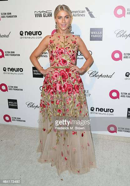 Actress Julianne Hough attends the 23rd Annual Elton John AIDS Foundation's Oscar Viewing Party on February 22 2015 in West Hollywood California