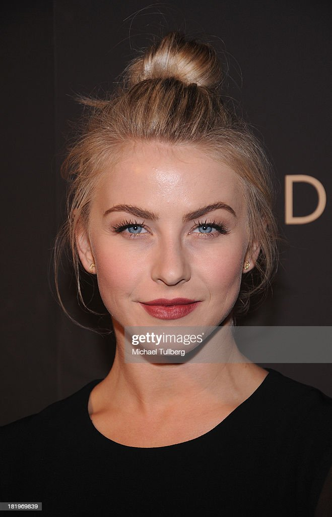 Actress Julianne Hough attends the 'Celebrate Cool Earth' benefit for the Cool Earth Foundation at Escada Boutique on September 26, 2013 in Beverly Hills, California.