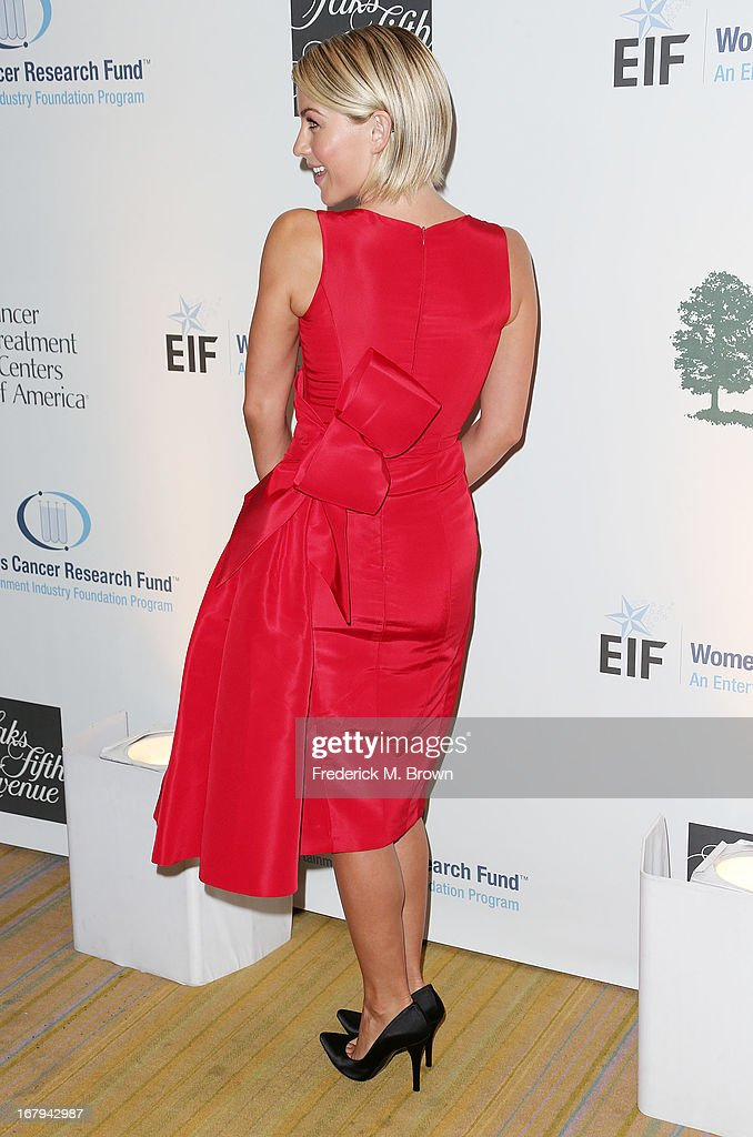 Actress Julianne Hough attends the EIF Women's Cancer Research Fund's 16th Annual 'An Unforgettable Evening' presented by Saks Fifth Avenue at the Beverly Wilshire Four Seasons Hotel on May 2, 2013 in Beverly Hills, California.