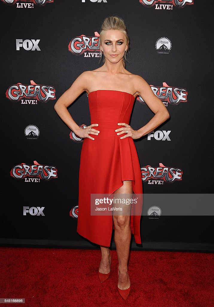 Actress Julianne Hough attends the For Your Consideration event for FOX's 'Grease Live' at Paramount Studios on June 15 2016 in Los Angeles California