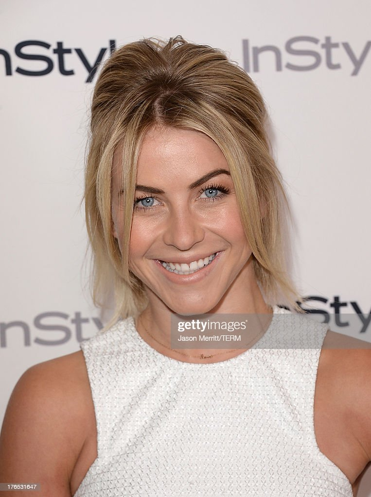 Actress Julianne Hough attends the InStyle Summer Soiree held Poolside at the Mondrian hotel on August 14, 2013 in West Hollywood, California.